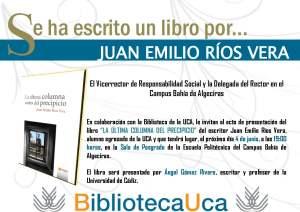 Cartel - Invitación Se ha escrito un libro por en A3 Emilio Ríos